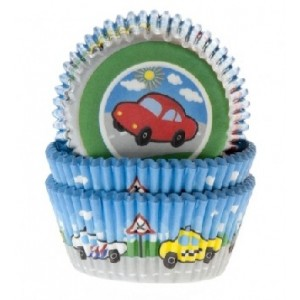 House of Marie Baking Cups Cars