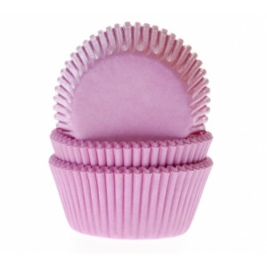 House of Marie Baking cups Licht Roze- pk/50