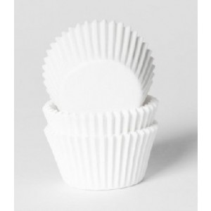 House of Marie Mini Baking Cups Wit