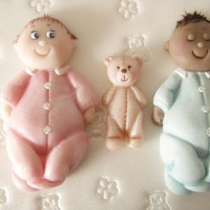 Karen Davies Baby and Teddy