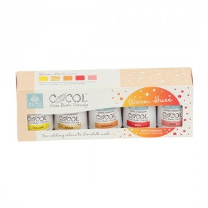 SK Professional COCOL Cocoa Butter Colouring - Warm Hues