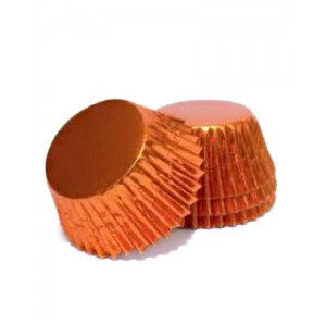 Lindy Smith Baking Cups Foil Orange
