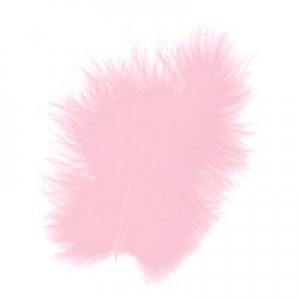 Lindy Smith Marabou Feathers Baby Rose