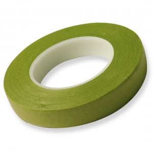 Hamilworth Floral Tape Nile Green