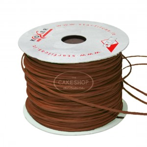 Paper covered wire Brown