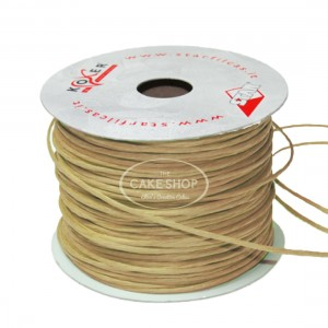 Paper covered wire Ecru