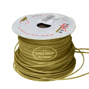 Paper covered wire Gold