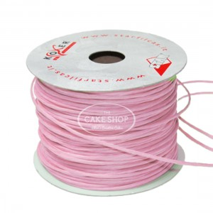 Paper covered wire Pink