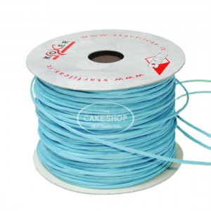 Paper covered wire Turquoise
