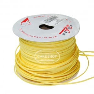 Paper covered wire yellow