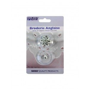 PME Broderie Anglaise Eyelet Cutters Petal & 6 Petals set/2