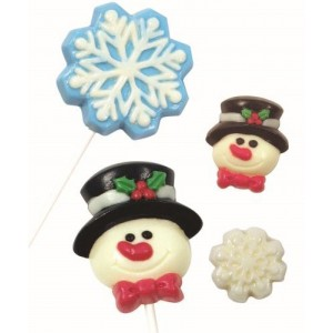PME Candy Mould - Winter Snow