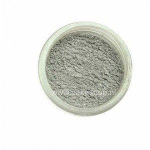 PME Lustre Powder Colour Silver Sequin