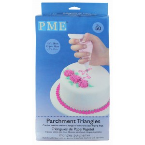 PME Parchment Triangles pk/50