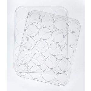 PanPastel - Empty Palette Tray & Cover voor 20 kleuren - Pre Order