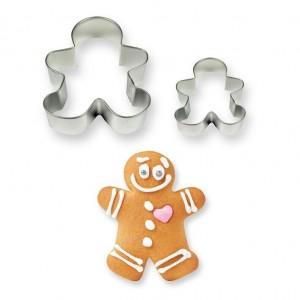 PME Cookies & Cake Gingerbread Man Cutters (Set/2)