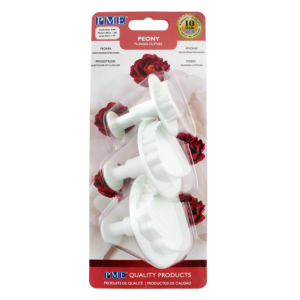 PME Floral Plunger cutters - s/m/l/ peony set of 3