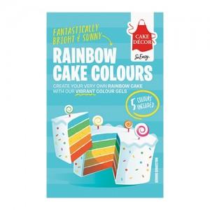 Cake Décor Rainbow Cake Colours