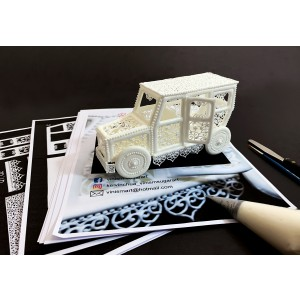 Kelvin Chua Royal Icing Automobile Tutorial