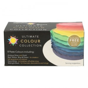 Sugarflair Paste Colour Ultimate Collection 8x25g