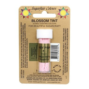 Sugarflair Blossom Tint Edible Dusting Colour - Baby Pink
