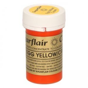 Sugarflair Spectral Egg Yellow/Cream