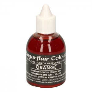 Sugarflair Airbrush Colouring -Orange- 60ml
