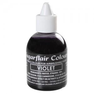 Sugarflair Airbrush Colouring -Violet - 60ml