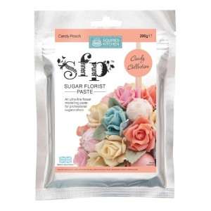 SK SFP Sugar Florist Paste Candy Peach 200g