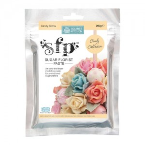 SK SFP Sugar Florist Paste Candy Yellow 200g