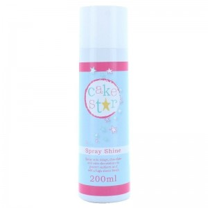 Cake Star Spray Shine Glaze 200ml - CO2