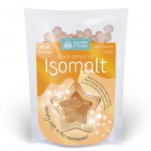 SK Ready tempered Isomalt Gold Sparkle