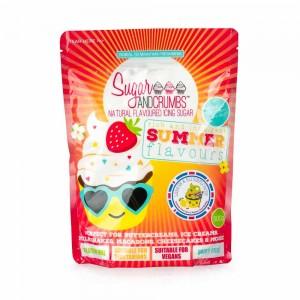 Sugar and Crumbs –Icing Sugar – Lemon & Elderflower 500g