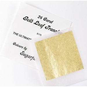 Sugarflair 24 Carat Gold Leaf Transfer