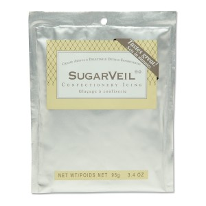 SugarVeil White Confectionery Icing 3.4 oz. pouch