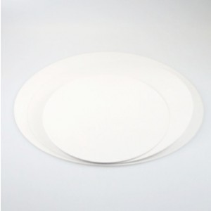 Taartkarton rond wit 30cm - 10st