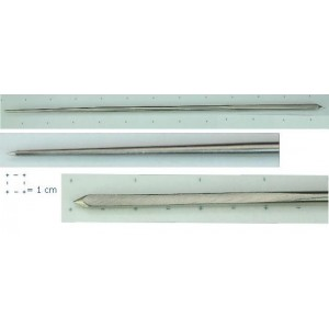 Thin Square & Round Ended Needle - 12 cm