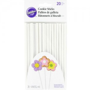 Wilton Cookie Treat Sticks 15cm, pk/20