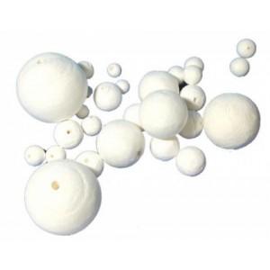 Watten bal 40mm -  5 stuks