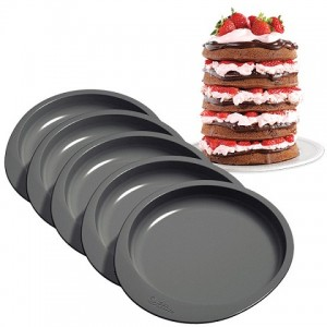 Wilton Cake Pan Easy Layers -15cm- Set/5