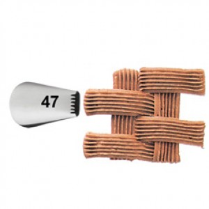 Wilton Decorating Tip #47 Basketweave