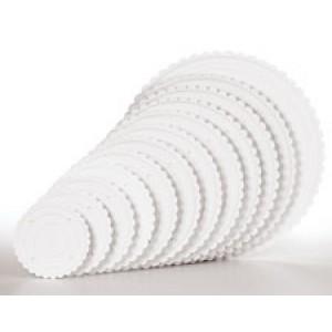Wilton Decorator Preferred Scalloped Separator Plate 30cm