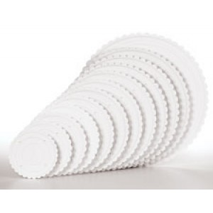 Wilton Decorator Preferred Scalloped Separator Plate 15cm