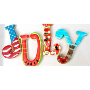 Cakes N' Supplies by Ximena - Curly Alphabet Uppercase XL