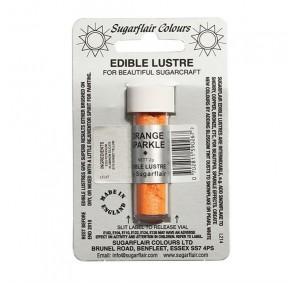 Sugarflair Edible Lustre Colour - Orange Sparkle