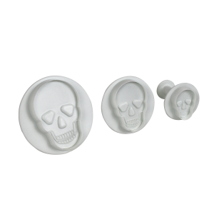 PME Skull Plunger cutter - Set of 3