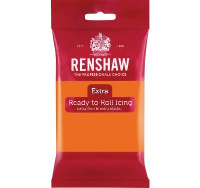 Renshaw Rolfondant Extra 250g -Orange-