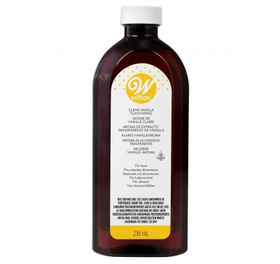 Wilton Imitation Clear Vanilla Extract 236ml