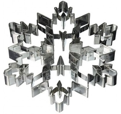 Giant Cut-Out Snowflake Cookie Cutter