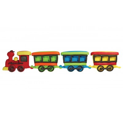 JEM Pop It - Train and Coach (Set/2)